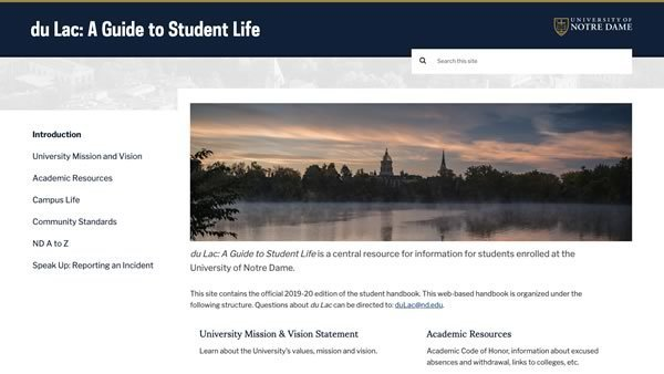 du Lac: A Guide to Student Life