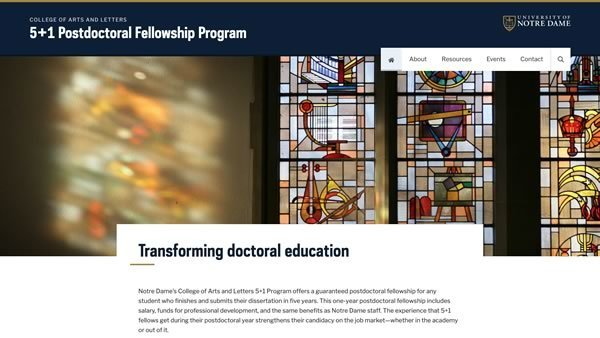 5+1 Postdoctoral Fellowship Program